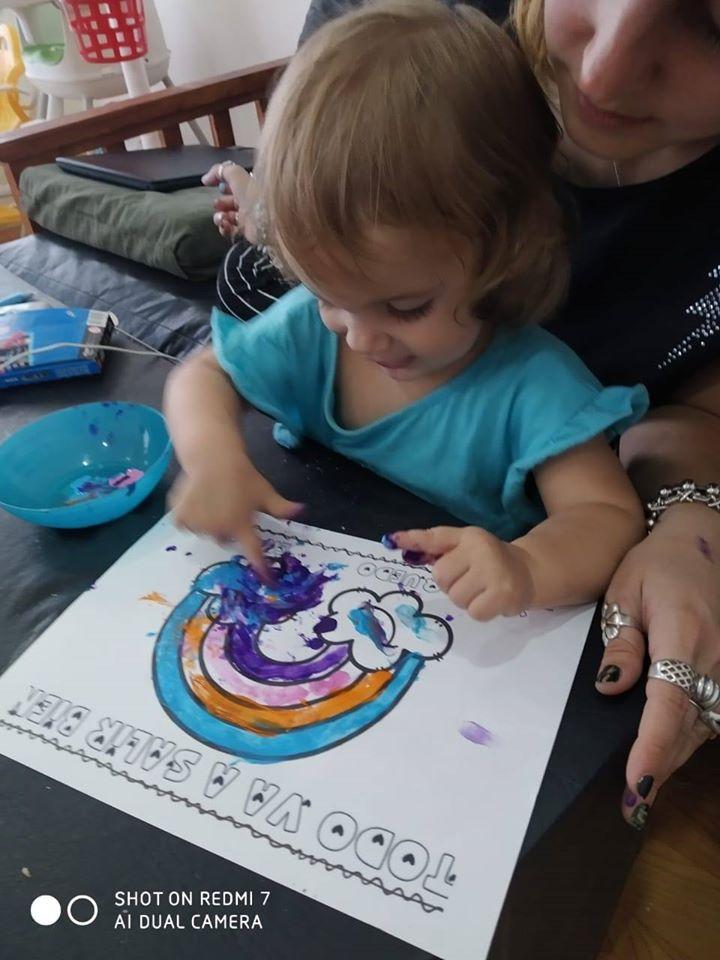 Viale : Los jardines maternales se suman  con actividades  en casa