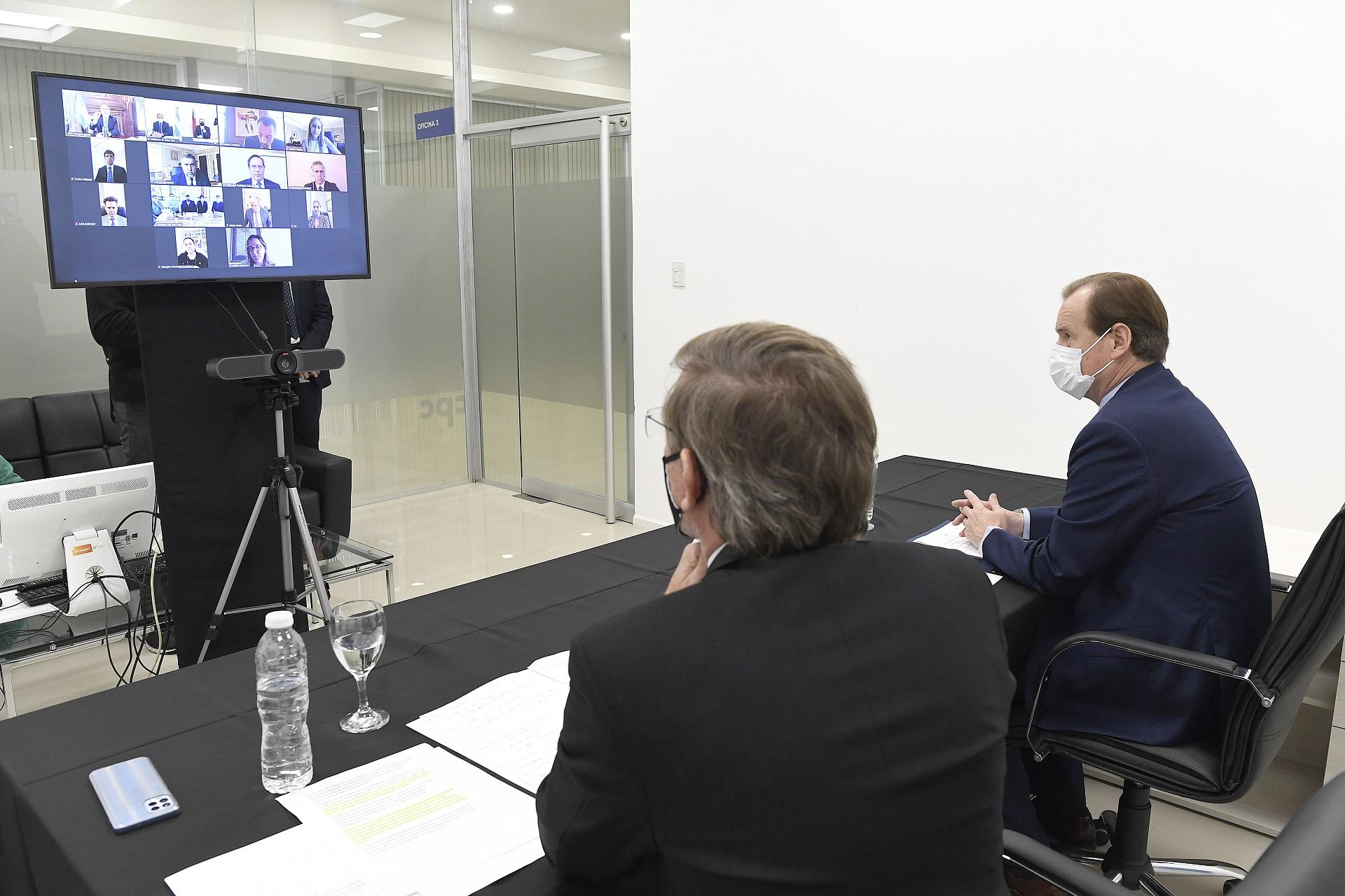 Bordet busca potenciar las exportaciones entrerrianas en EE.UU.