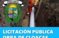 Pueblo Brugo : Licitación para la Obra de Cloacas por mas de Cien Millones de pesos