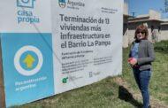 Tabossi : El municipio brinda  infraestructura y continúa el Plan de Viviendas Sociales