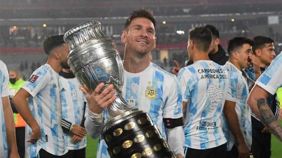 Messi, entre lágrimas: