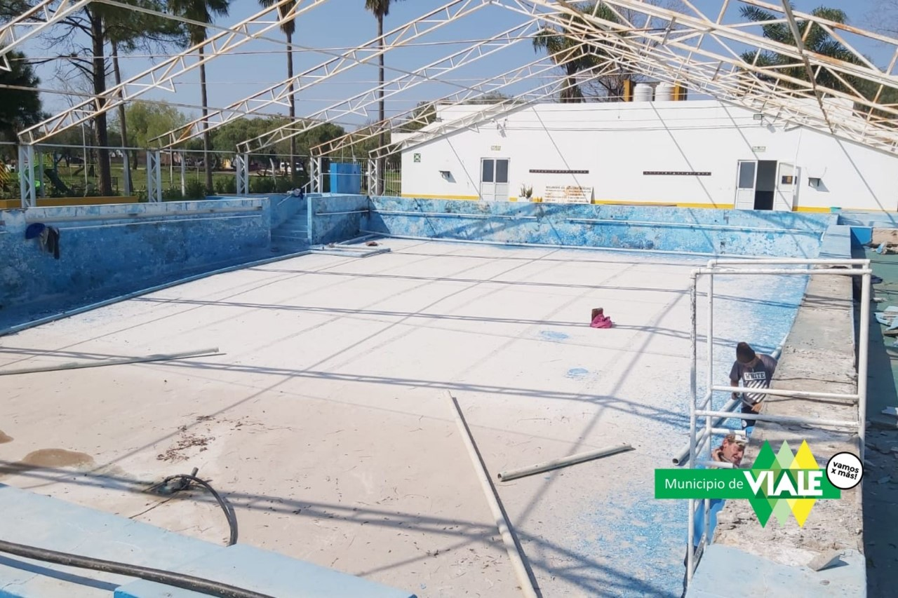Viale: El municipio trabaja en la revalorización del natatorio