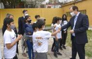 """Bordet: """"Trabajamos fuertemente en asegurar las condiciones edilicias de las escuelas"""""""