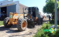Viale : El municipio trabaja para mejorar la transitabilidad mediante pavimentación en Barrio Bellaco