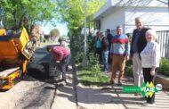 Viale : El municipio continua ejecutando la obra de pavimentación en diferentes sectores de la ciudad