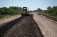 Vialidad trabaja en la conservación en la Ruta 10 a la altura de María Grande Segunda