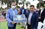 Bordet participó de las celebraciones por el 88 aniversario de Piedras Blancas